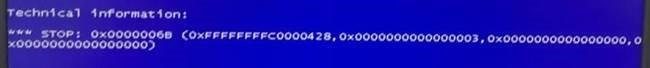 windows 7用户升级kb3146706后导致系统蓝屏0x0000006B-新席地网博客