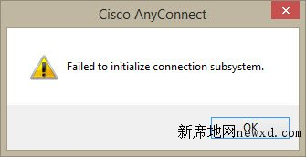 windows 8.1 10 Cisco AnyConnect  vpn Failed to initialize connection subsystem 4.0.00061下载-新席地网博客